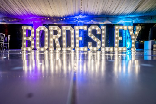 Bordesley Light Up Letters