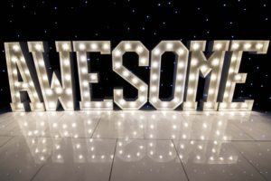 awesome light up letters