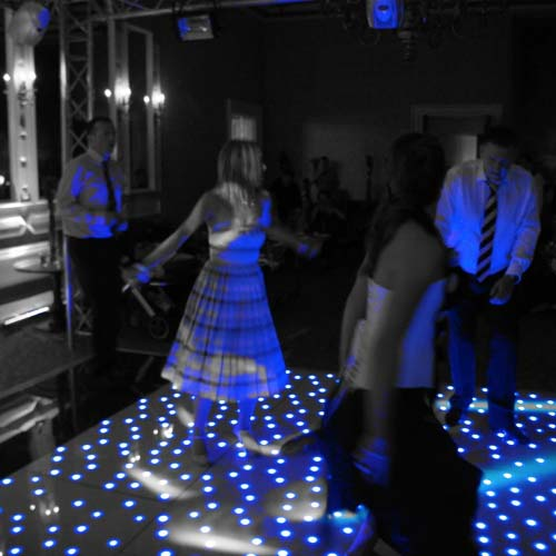 Blue Starlit Dance Floor