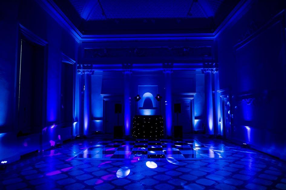 Compton Verney Wedding Lighting