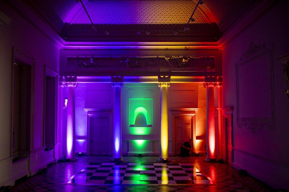 Compton Vereny Wedding Lighting