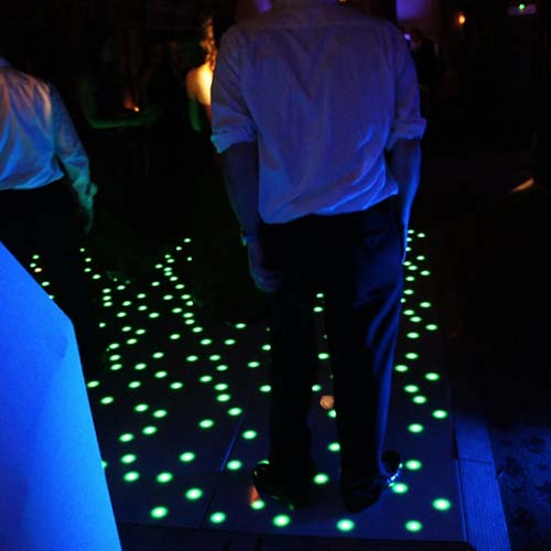 Green Starlit Dance Floor