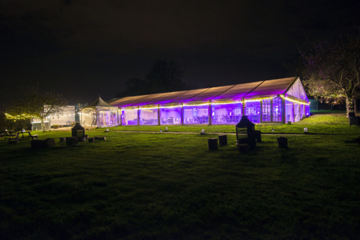 Bordesley Park Marquee moodlighting redditch