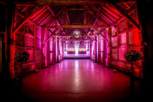 pink uplighting uplighting