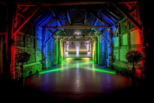 coloured moodlighting hire worcester